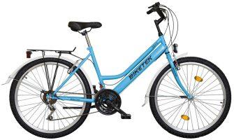 """Koliken Biketek Oryx 26"""" 18 seb női felszerelt kerékpár kék"""