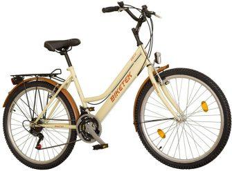 """Koliken Biketek Oryx 26"""" 18 seb női felszerelt kerékpár latte"""