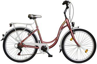 """Koliken Sweet Bike SX6 26"""" rózsa"""