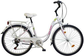 """Koliken Sweet Bike SX6 26"""" fehér"""
