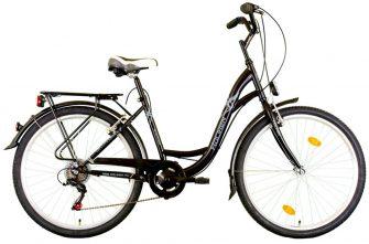 """Koliken Sweet Bike SX6 26"""" fekete"""