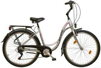 """Koliken Sweet Bike SX6 26"""" ezüst"""