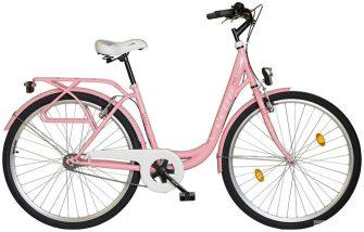 """Koliken Ocean 26"""" kontrás kerékpár rózsaszín"""
