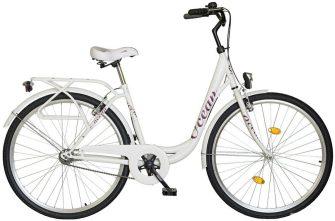 """Koliken Ocean 26"""" kontrás kerékpár fehér"""
