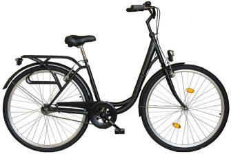 """Koliken Ocean 26"""" kontrás kerékpár fekete"""