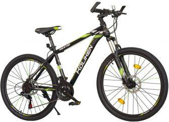 """Koliken RockTop 26/19"""" MTB kerékpár fekete-zöld"""