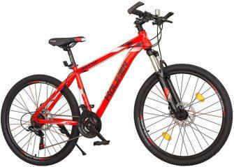 """Koliken RockTop 26/19"""" MTB kerékpár piros-fehér"""
