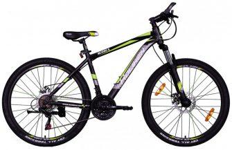"Koliken Scoria 26/17"" MTB alu kerékpár fekete-zöld"