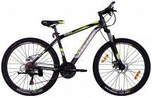 "Koliken Scoria 26/19"" MTB alu kerékpár fekete-zöld"