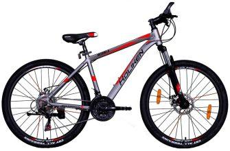 """Koliken Scoria 26/19"""" MTB alu kerékpár grafit-piros"""