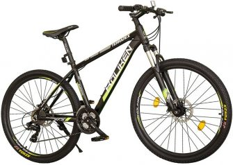 """Koliken Terranex 27,5/19"""" MTB kerékpár fekete-zöld"""