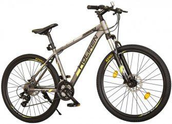 """Koliken Terranex 27,5/19"""" MTB kerékpár grafit-zöld"""