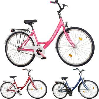 """Koliken Biketek 28"""" túra kontrafékes női kerékpár"""