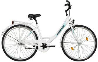 """Koliken Biketek 28"""" túra kontrafékes női kerékpár fehér"""