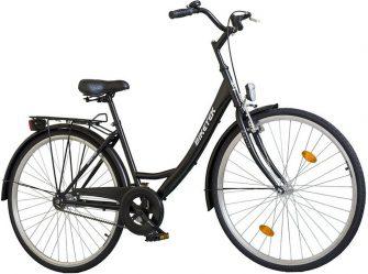 """Koliken Biketek 28"""" túra kontrafékes női kerékpár fekete"""