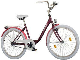 """Koliken Biketek Feliz 28"""" női kerékpár bordó"""