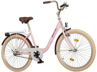 """Koliken Biketek Feliz 28"""" női kerékpár rózsaszín"""
