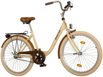"""Koliken Biketek Feliz 28"""" női kerékpár latte"""