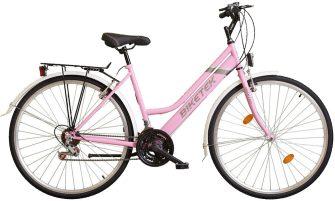 Koliken Maxwell női trekking kerékpár rózsaszín