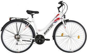 Koliken Maxwell női trekking kerékpár fehér
