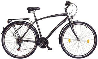 "Koliken Gisu 28"" RS35 férfi trekking kerékpár fekete"