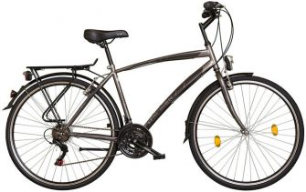 "Koliken Gisu 28"" RS35 férfi trekking kerékpár grafit"