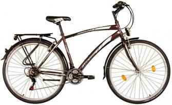 "Koliken Gisu 28"" RS35 férfi trekking kerékpár barna"