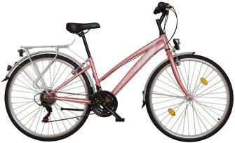 """Koliken Gisu 28"""" RS35 trekking női kerékpár rózsaszín"""