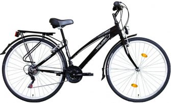 "Koliken Gisu 28"" RS35 trekking női kerékpár fekete"