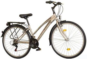 """Koliken Gisu 28"""" RS35 trekking női kerékpár pezsgő"""