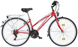 "Koliken Gisu 28"" RS35 trekking női kerékpár piros"