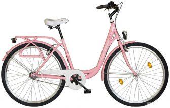 """Koliken Ocean 28"""" kontrafékes kerékpár rózsaszín"""