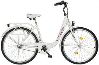 """Koliken Ocean 28"""" kontrafékes kerékpár fehér"""