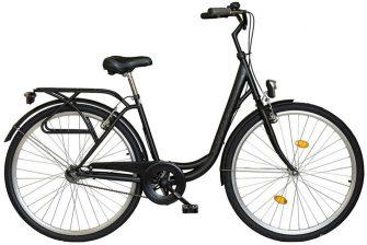 """Koliken Ocean 28"""" kontrafékes kerékpár fekete"""