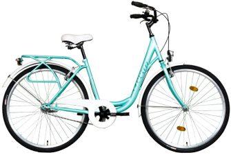 """Koliken Ocean 28"""" kontrafékes kerékpár türkiz"""