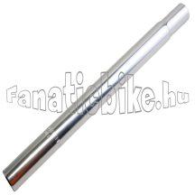 25.4x350 mm acél nyeregcső króm