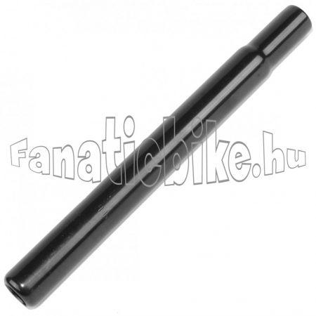25.4x250 mm acél nyeregcső fekete