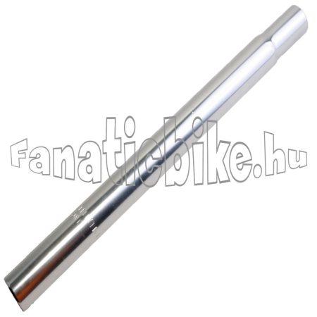 25.4x250 mm acél nyeregcső króm