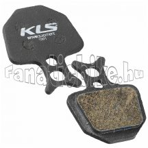 KLS D-09 organikus fékbetét (pár)
