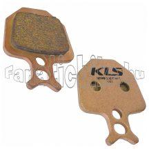 Fékbetét KLS D-09S (pár)