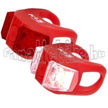 Lámpa szett KLS TWINS, piros