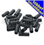 Bowdenház vég  5mm műanyag fekete