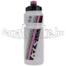 NAMIB kulacs 700 ml Transparent pink