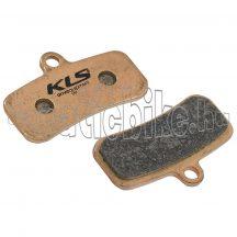 Fékbetét KLS D-16S, szinterezett (pár)