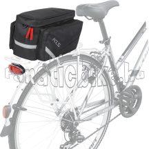 KLS Space 12 Eco csomagtartó táska fekete