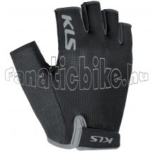 KLS Factor 021, black, kesztyű L