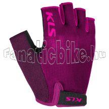 Kesztyű KLS Factor 021, purple, XL