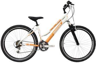 """Neuzer Alu Eco 26"""" MTB női kerékpár fehér-narancs"""