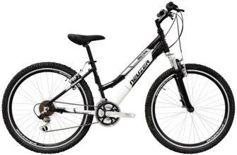 """Neuzer Alu Eco 26"""" MTB női kerékpár fekete-fehér"""