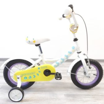 """Neuzer 12"""" kerékpár lány fehér/love"""